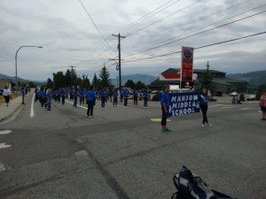 Manson Middle School Marching Band